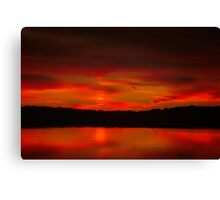 Quiet Flare of Nightfall Canvas Print