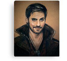 Captain Hook Canvas Print
