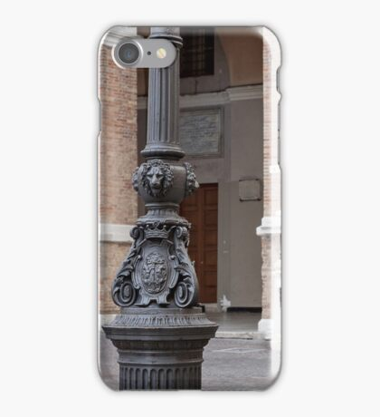 The ancient coat of arms iPhone Case/Skin