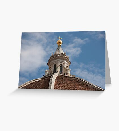 Dome Walkers Greeting Card
