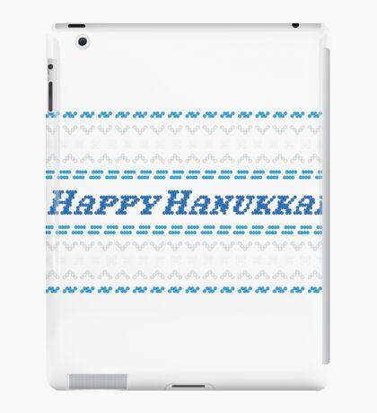Happy Hanukkah Chanukah Hanukah Ugly Sweater T shirt iPad Case/Skin