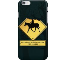 Headless Horseman Sign iPhone Case/Skin