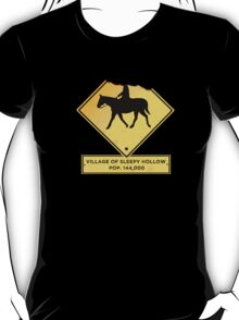 Headless Horseman Sign T-Shirt
