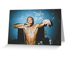 MC Ride (Death Grips) Vector Greeting Card