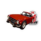TR6 RED by Thomas Barker-Detwiler