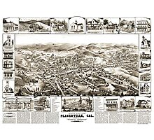 Placerville - California - United States - 1888 Photographic Print