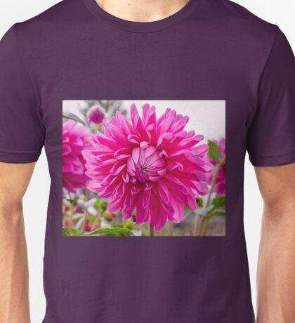 Pink Dahlia Unisex T-Shirt