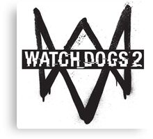 WATCH DOGS Canvas Print