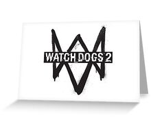 WATCH DOGS Greeting Card