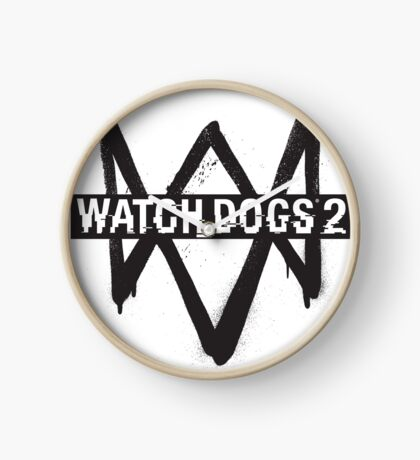 WATCH DOGS Clock