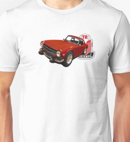 TR6 RED Unisex T-Shirt