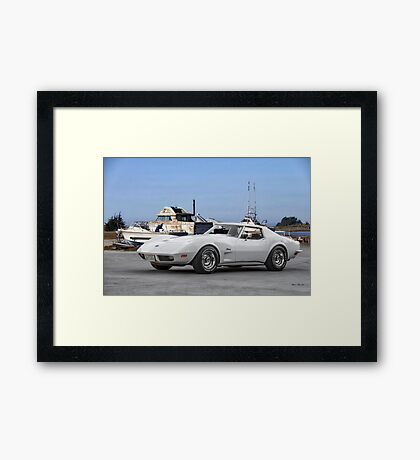 1973 Chevrolet Corvette Stingray Framed Print
