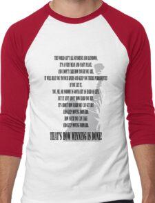 Rocky Motivation Men's Baseball ¾ T-Shirt