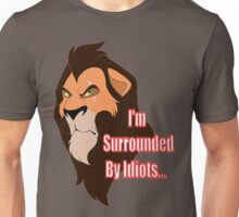 Scar- Surrounded by Idiots Unisex T-Shirt
