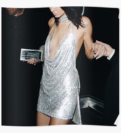 Kendall Jenner Sparkly Birthday Dress (Picture) Poster