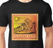 CARDIFF BY THE SEA ENCINITAS CALIFORNIA SURFING Unisex T-Shirt