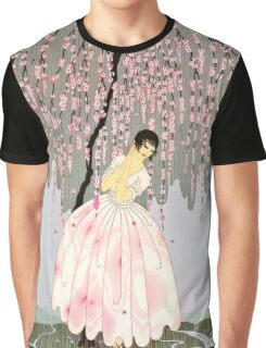 "Art Deco Design by Erte ""Blossom Umbrella"" Graphic T-Shirt"