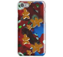 Gingerbread Men and Cinnamon Stars iPhone Case/Skin