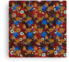 Gingerbread Men and Cinnamon Stars Canvas Print