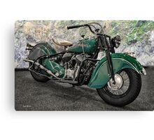 1947 Indian 'Chief' Motorcycle Canvas Print