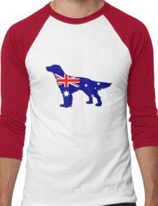 Australian Flag - English Setter Men's Baseball ¾ T-Shirt