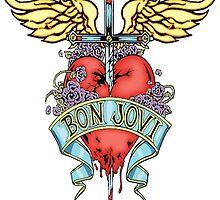 Bon Jovi - Dagger Through Heart by schembri211