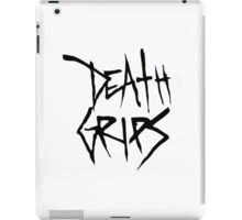 Death Grips (Black Logo) iPad Case/Skin