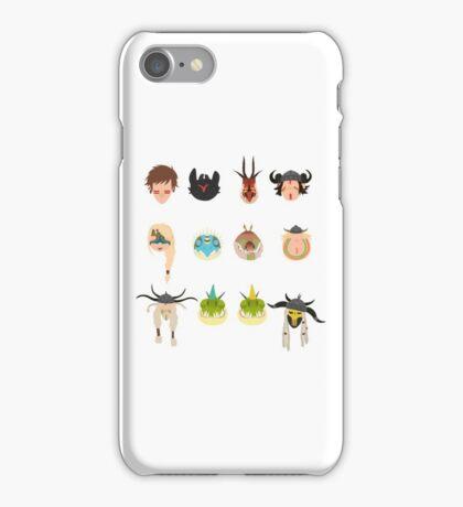 Dragon Racers iPhone Case/Skin