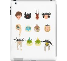 Dragon Racers iPad Case/Skin
