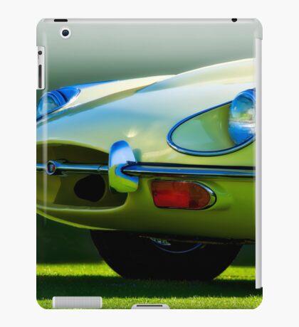 E-Type British Sports Car 'The Cat's Eye' iPad Case/Skin