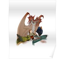 Valka and the dragons Poster