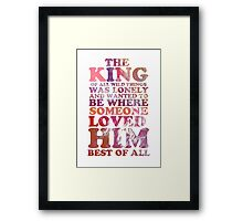 Where The Wild Things Are Quote 1 Framed Print