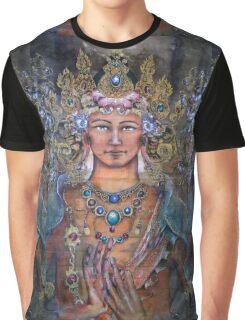 Manjushri and the Dharmachakra mudra Graphic T-Shirt