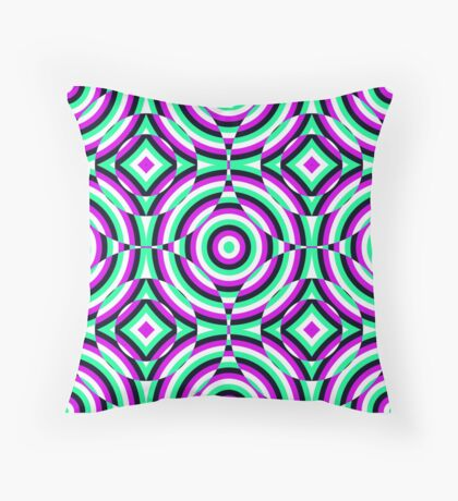 Muons Throw Pillow