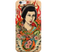 Dragon Geisha iPhone Case/Skin