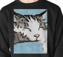 Sleepy Kitty Pullover