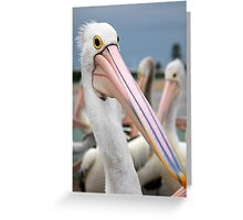 Percy always stood out in a crowd Greeting Card