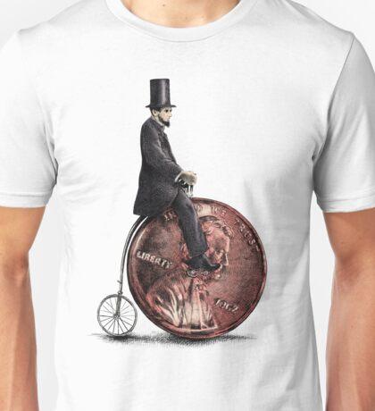 Penny Farthing option  Unisex T-Shirt