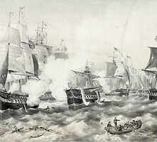 Battle of Lake Erie by Vintage Works