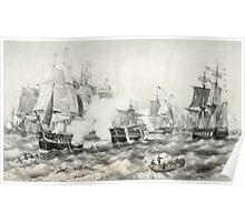 Battle of Lake Erie Poster