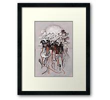 The Unfurling Dreamer Framed Print