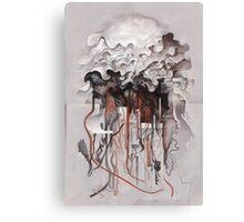 The Unfurling Dreamer Canvas Print