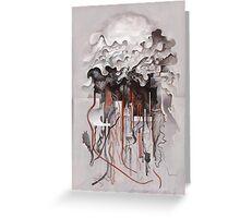 The Unfurling Dreamer Greeting Card