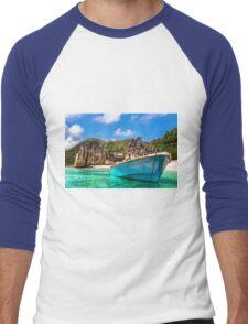 Tropical beach Men's Baseball ¾ T-Shirt