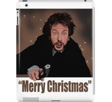 """Merry Christmas love from Hans"" iPad Case/Skin"