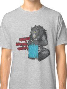 Beware of Knitting Beasts - light fabric Classic T-Shirt
