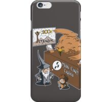 Middle Earth Travels iPhone Case/Skin