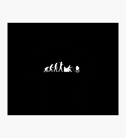 Evolution Humanity (GAMER) Photographic Print