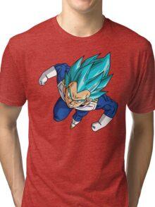 Dragon Ball Super - Vegeta Blue Tri-blend T-Shirt