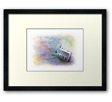NES Painting Framed Print